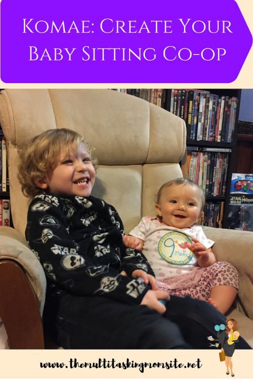 Create your own babysitting co-op with out the hassle of paperwork and management with Komae. Free babysitting and play dates for the kids!