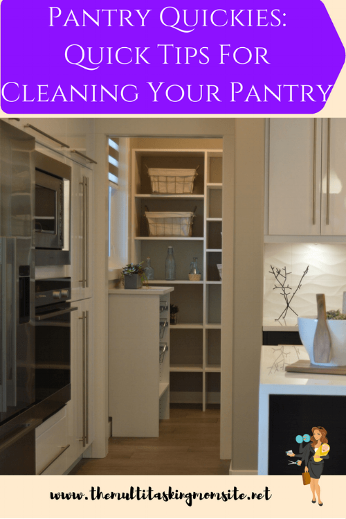 How to organize your pantry in your pockets of time when you don't have the time for a complete overhaul and cleaning. Quick tips.