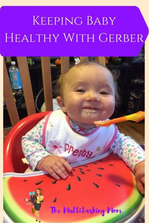 healthy with gerber