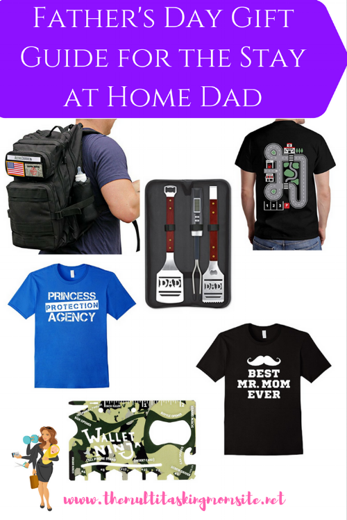 Father's Day Gift Guide for Stay at Home Dads The perfect Father's Day gifts for the stay at home dad or any dad who loves one on one time with the kids.