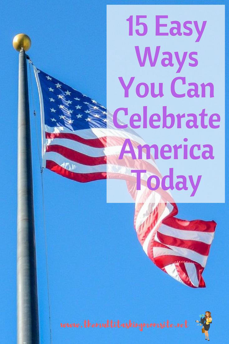 Since all our things are in boxes and everything is up in the air, I put together a list of things we can to to celebrate Independence Day that don't require a lot of prep or materials. Check it out.