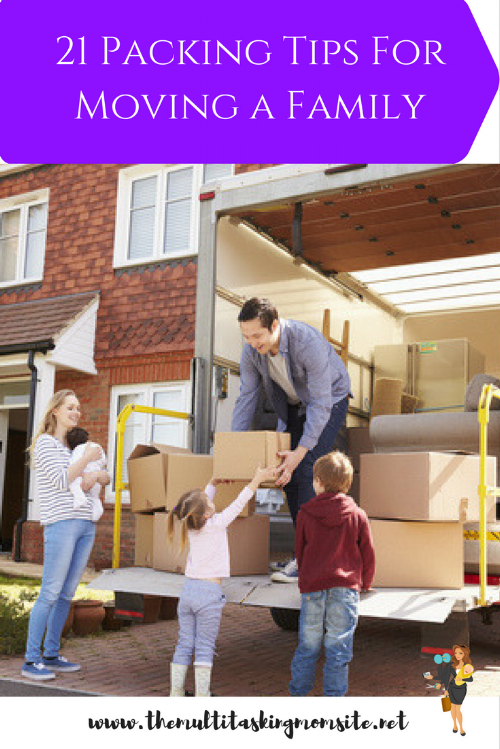We are in the middle of moving. Between organizing the move and determining what goes to the new place and what goes to storage, we have learned a lot. The following are my tips for an organized and efficient move.