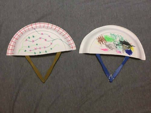Paper Plate Fan Craft