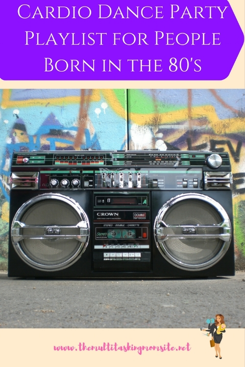 The perfect 90's music playlist to get your cardio on. Learn why I love having a dance party as my cardio and get my fav playlist!