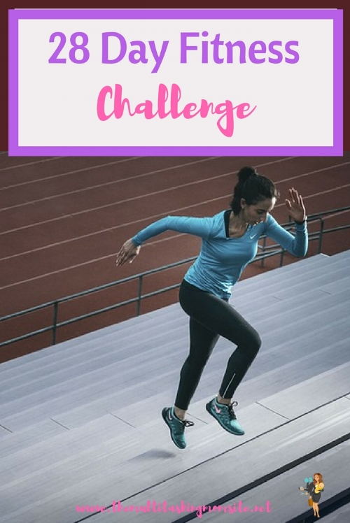 Join us on our 28 day fitness challenge to transform your body in just a few minutes a day.