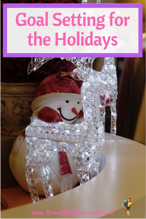 Holiday goals are short term goals that cover all aspects of life. These are super important to ensure you have a successful, enjoyable holiday season without regrets.