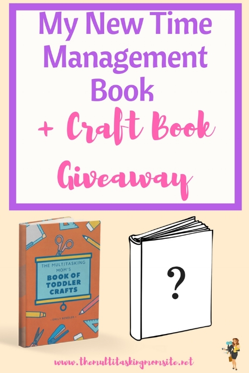 Want to learn all about my new time management book, the release details, and how to win a free craft book? Check it out!