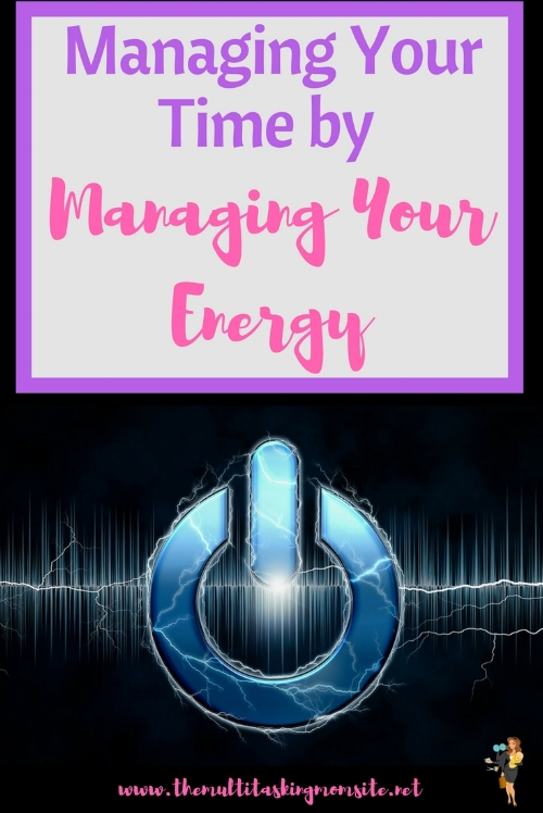 How to use energy management to improve your ability to manage your time.
