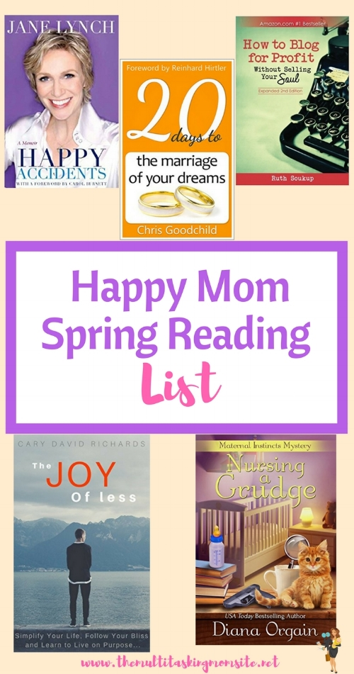 A list of books to help moms tackle all aspects of life for home to marriage to work and entertainment.