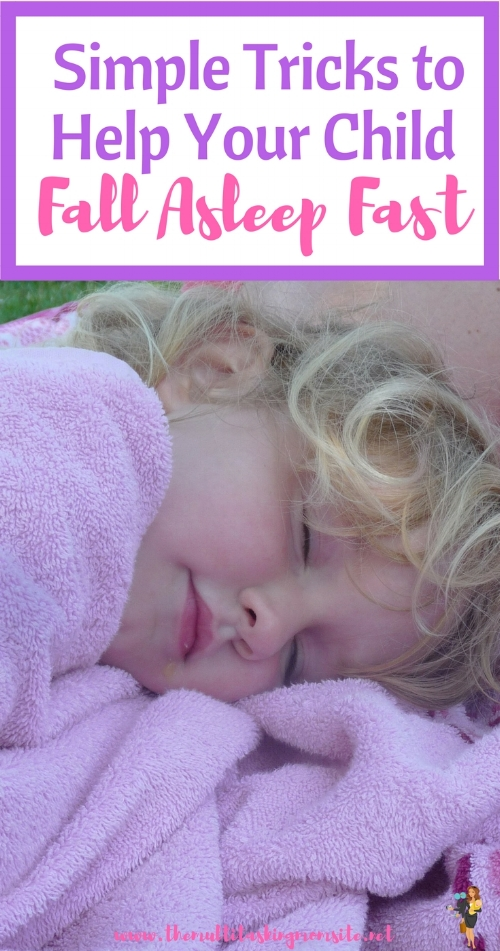 These tricks are simple things you can do to help your kids transition from wake to sleep and fall asleep faster and easier.