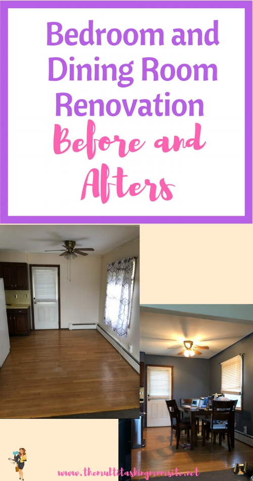 How we renovated the 3 bedrooms in our home as well as the dining room and kitchen.