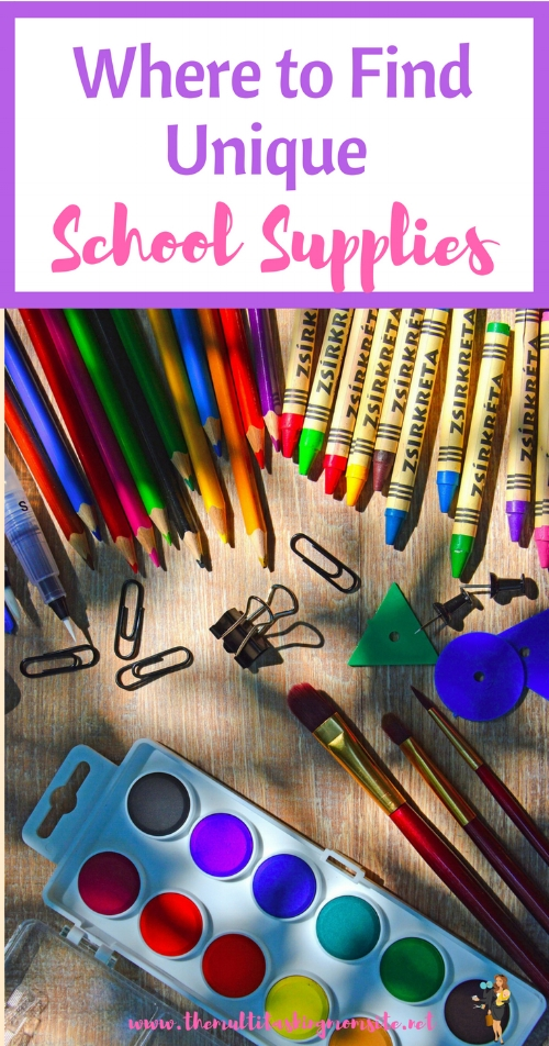 Here are several shops to check out to find unique and personalized school supplies for your kiddo.