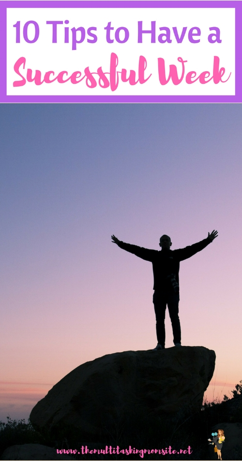 We all want to have that feeling of satisfaction at the end of the week when we get the things done that we intended to, Check out how you can ensure your weeks are successful