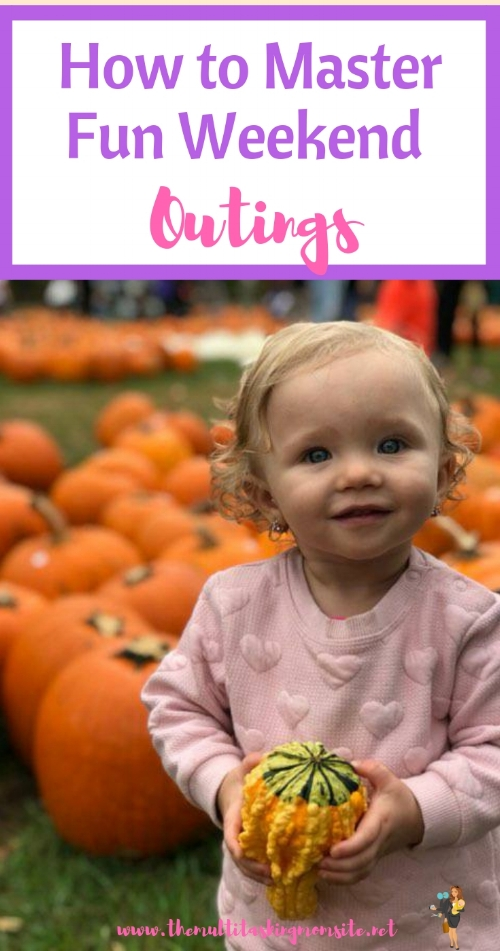 How to plan awesome fun weekend outing for the kiddos in as little time as possible.