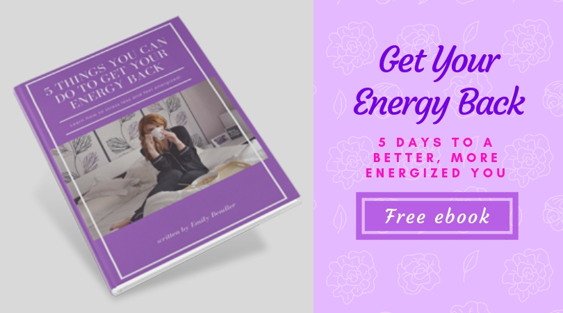 Simple and easy to implement tricks to help you get more energy to tackle your day!