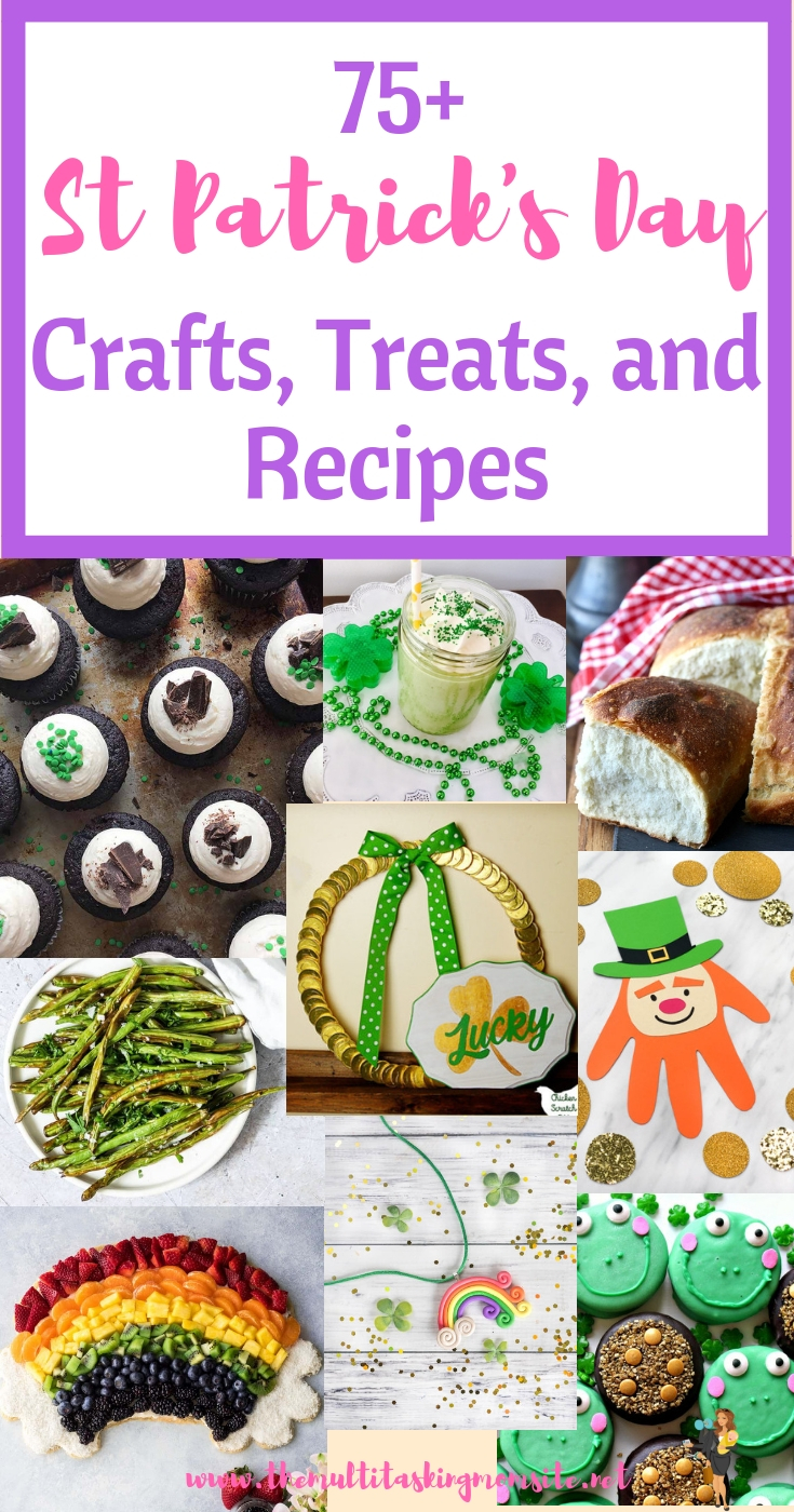 A huge collection of crafts, activities, desserts and recipes to create a fun family friendly St Patrick's day