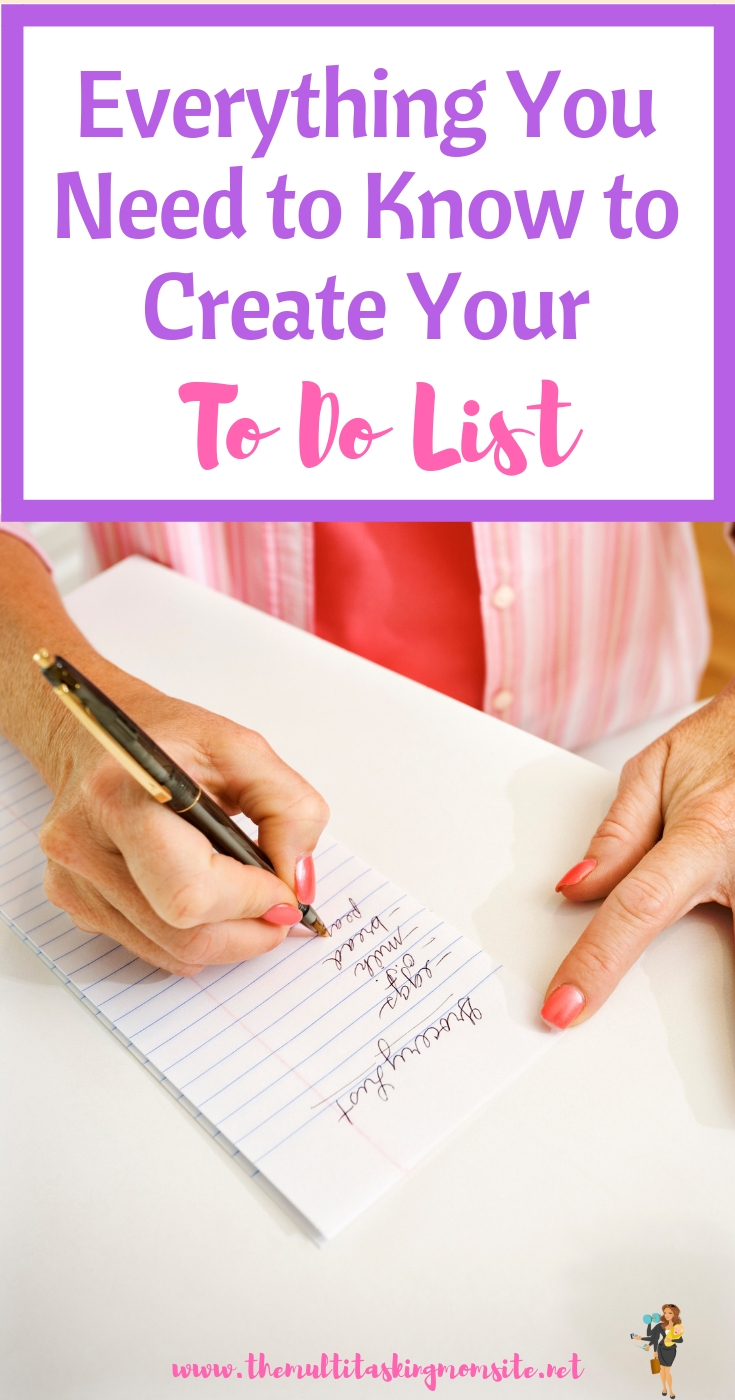 The steps to take to create a perfect to do list that doesn't overwhelm you and actually gets done.