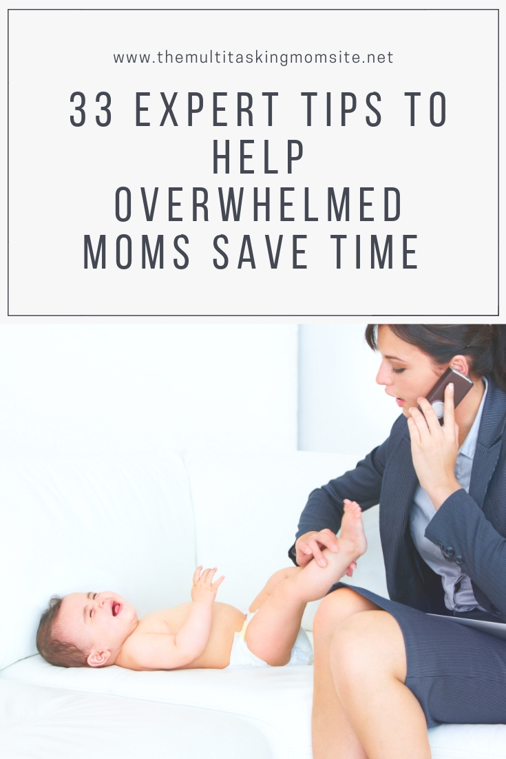 Working moms have a lot on their plate. This article has tons of easy to implement tips to save time at home, at work, and in life in general.