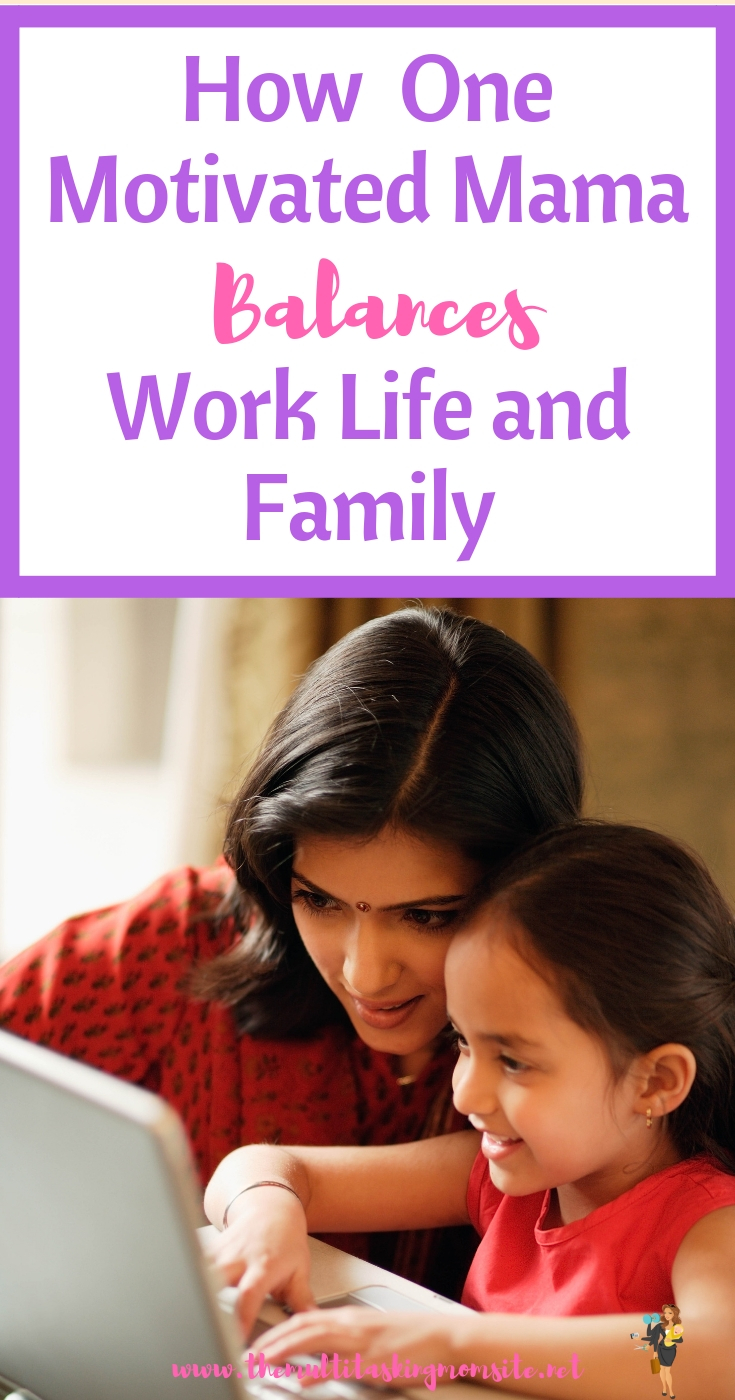 Check out how this mama was able to find balance between being a good employee and a good mom.
