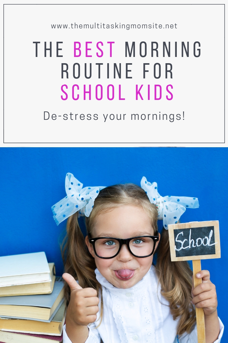 Check out how to help your kiddos create a morning routine that de-stresses your mornings.