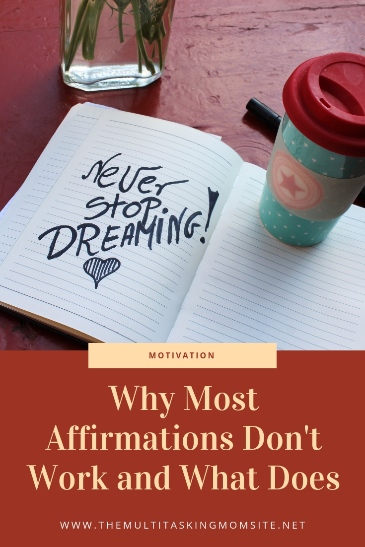 Want to learn how to create affirmations that are motivational and empowering and why the ones you are using may not be working? Check out this post.