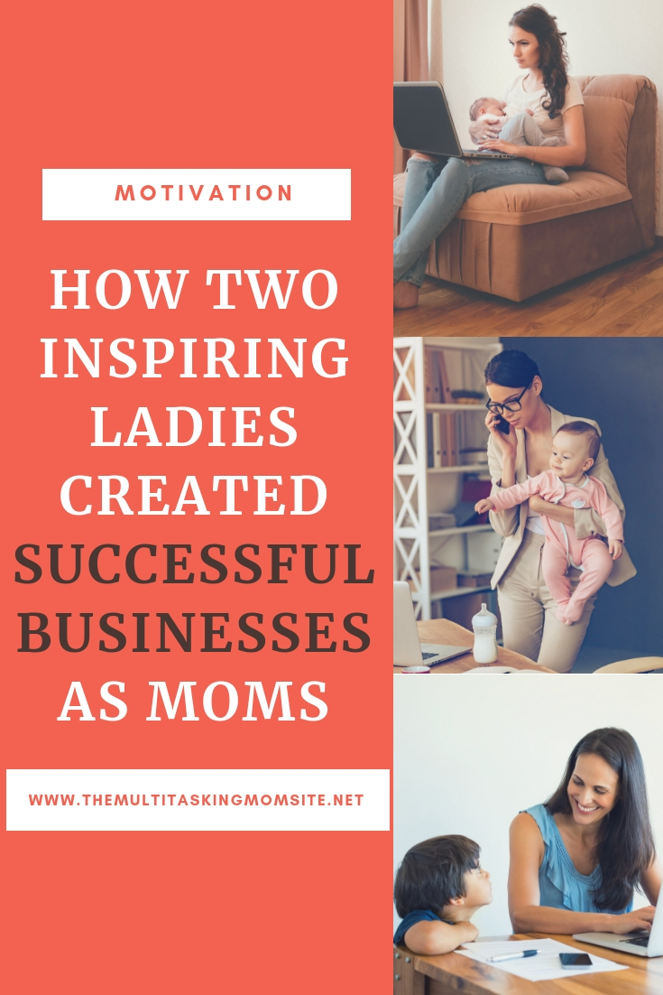 Check out the inspiring stories of two moms who created successful businesses after becoming parents.