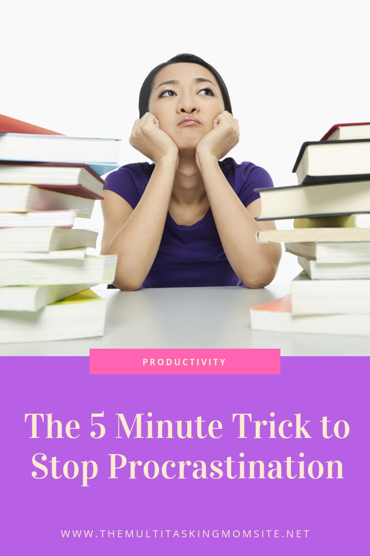 It only takes 5 minutes to stop procrastination in it's tracks. You'll never guess how it works.