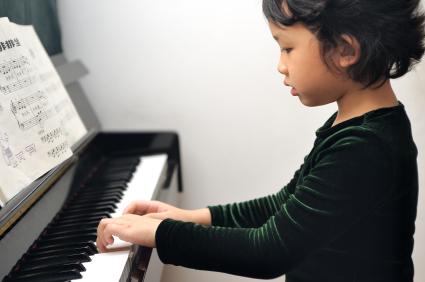 Suzuki Piano lesson