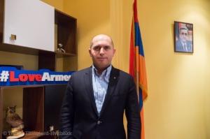 Armen Ashotyan leder valgkampen til det republikanske partiet