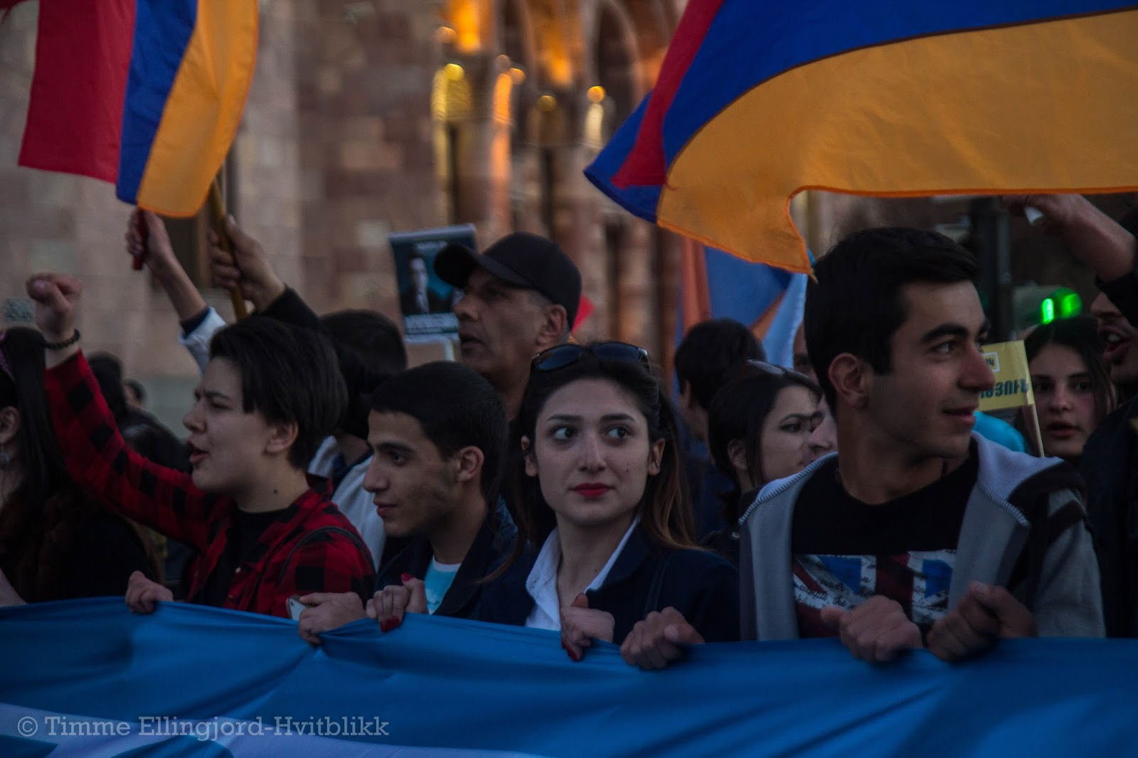 young Armenians caring for their future