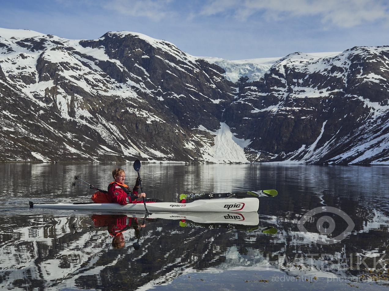 VG reise - Opplev Finnmarksalpene med ski og kajakk