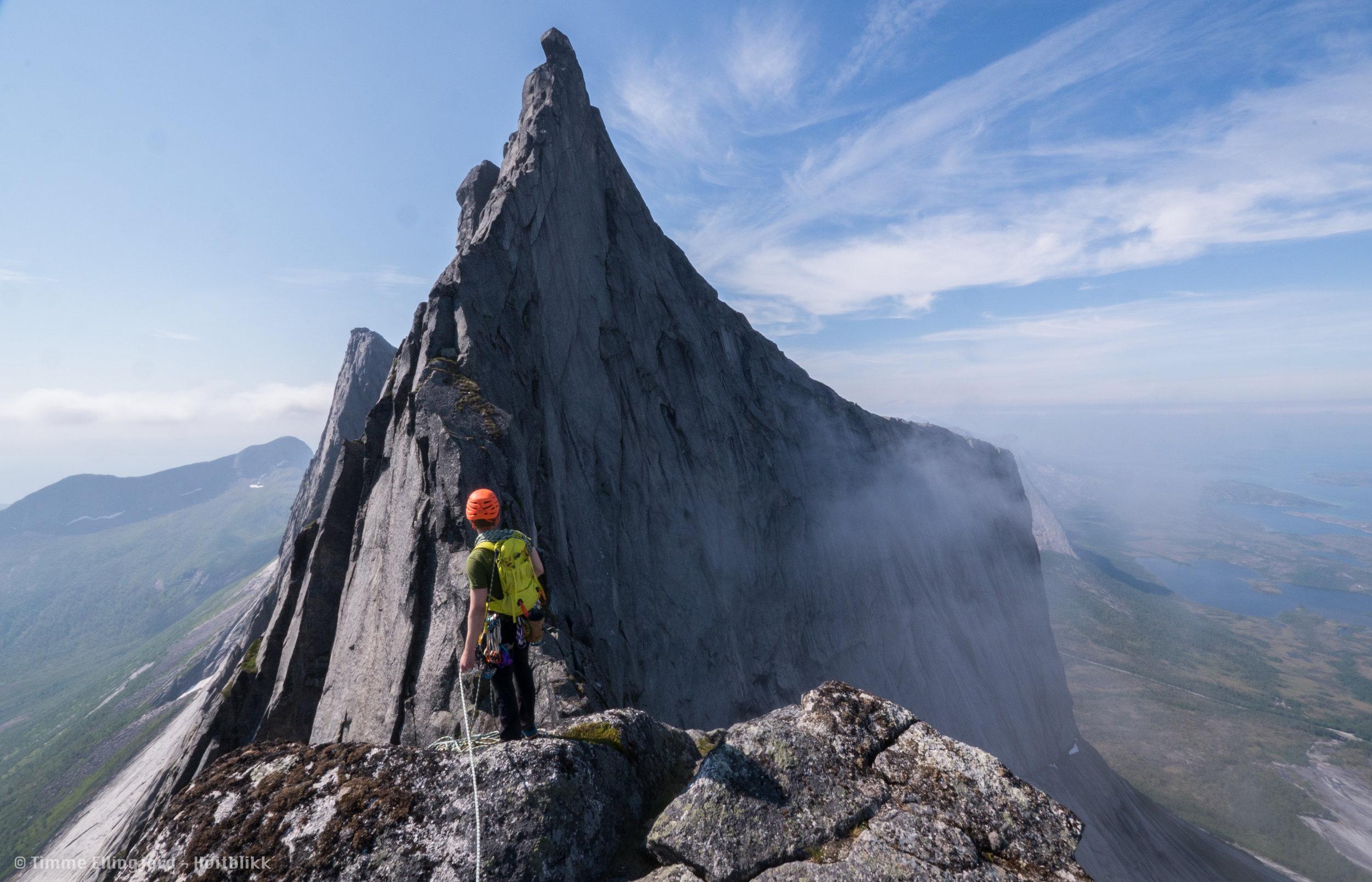 Guiding og klatrekurs -