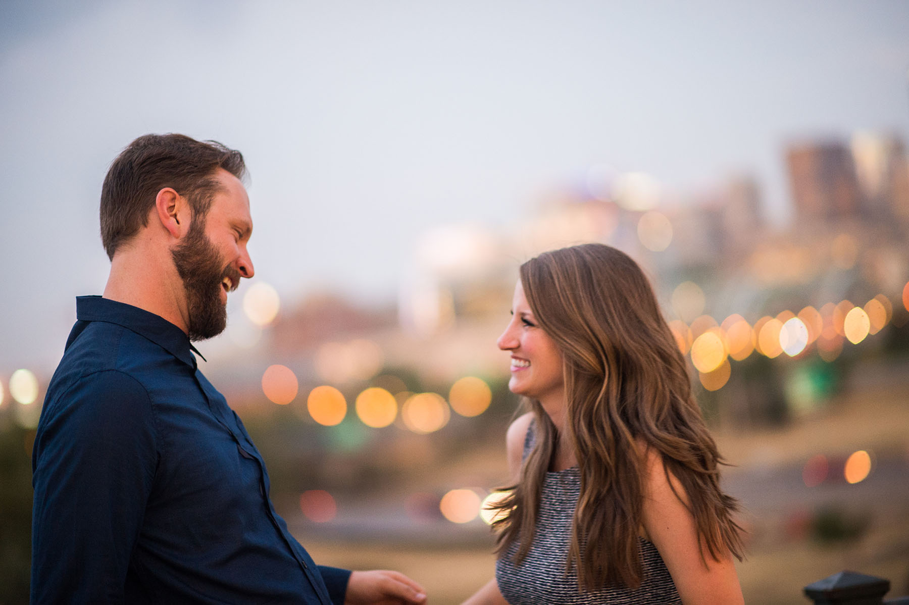 denver engagement session