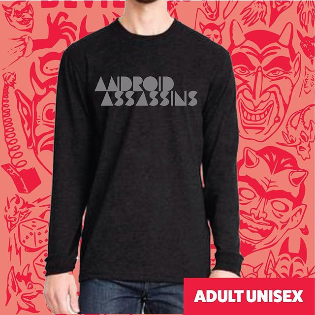 Proceeds of the pre-sale go towards the Android Assassins party in December head to devilcaketechno.com/support to order #electro #unisex #blacktshirt #techno #shirt #reflectiveink #preorder #androidassasins