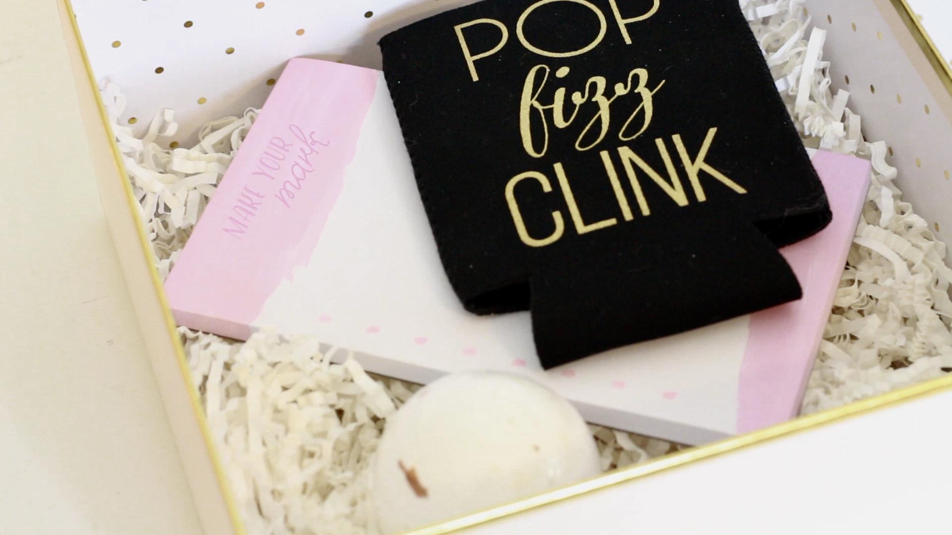 diy bridesmaid proposal, diy bridesmaid box, affordable bridesmaid box ideas