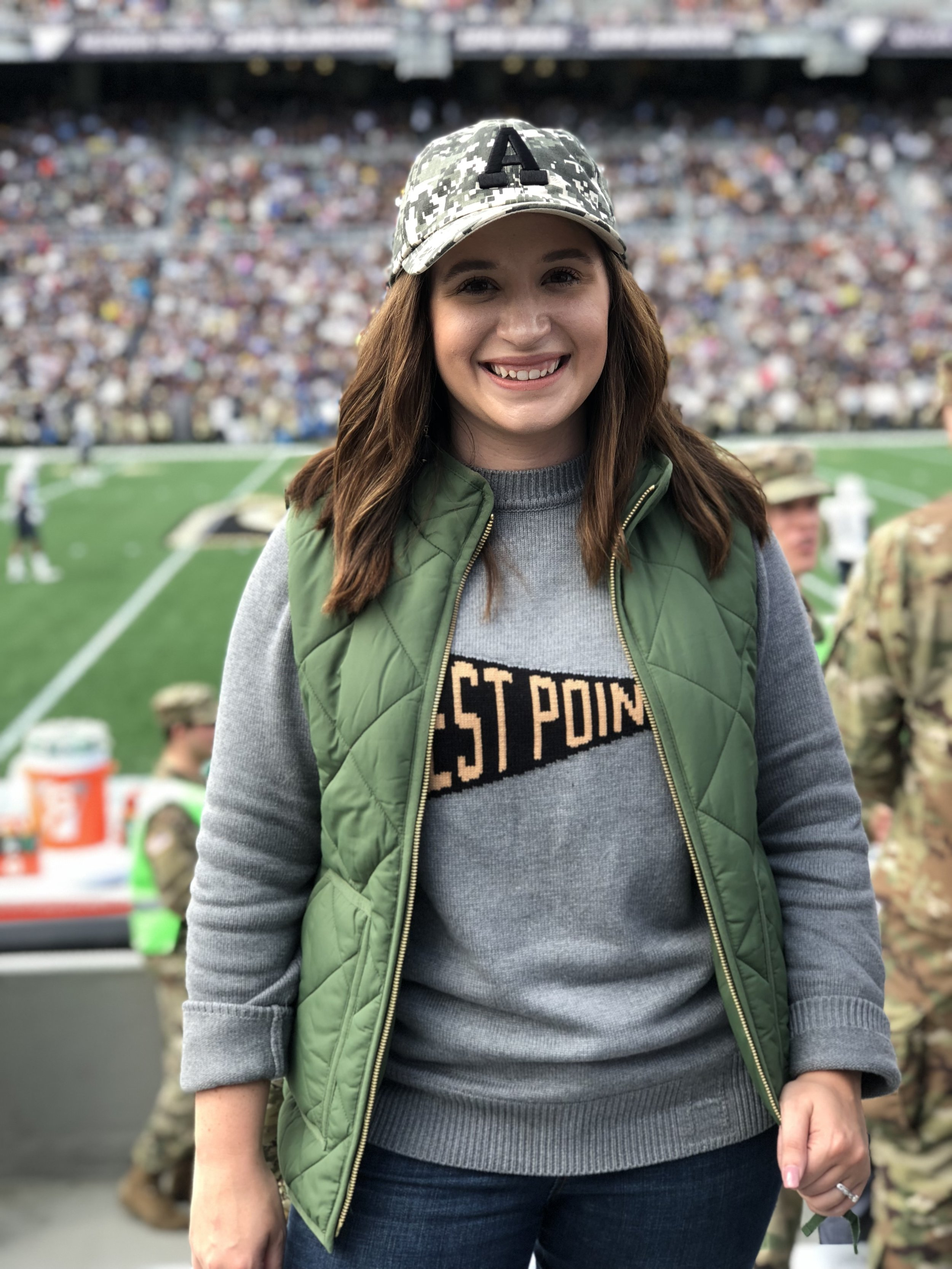 hillflint sweater outfits, army football outfit, west point football outfit, black and gold football outfit, army west point football