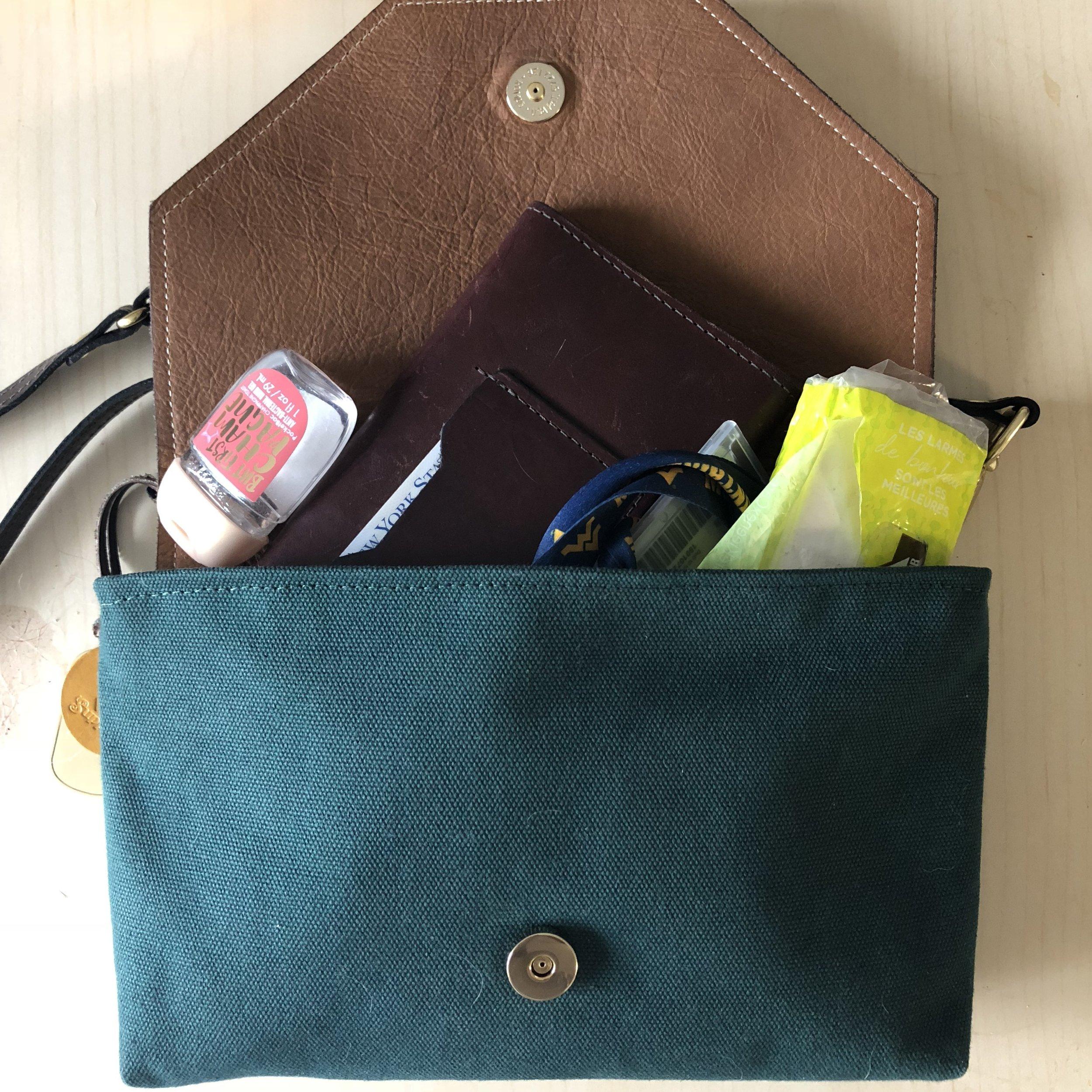 what's in my handbag r. riveter patton darrian michelle