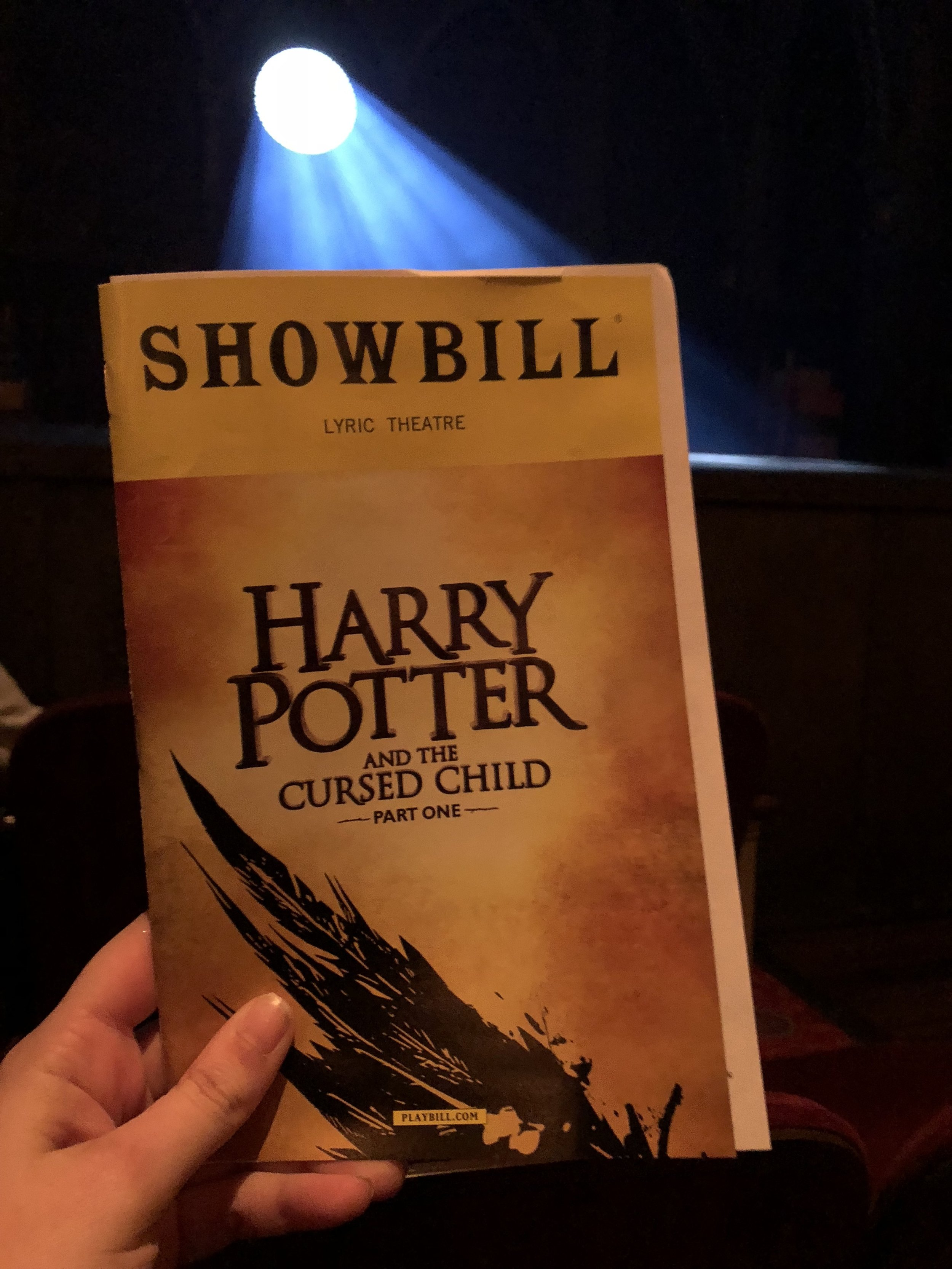 Harry Potter and the Cursed Child NYC