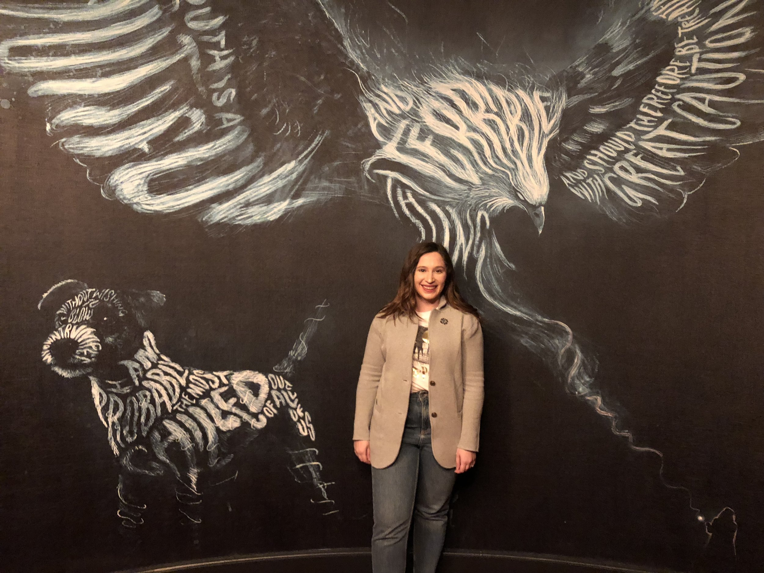 Harry Potter and the Cursed Child NYC patronus room