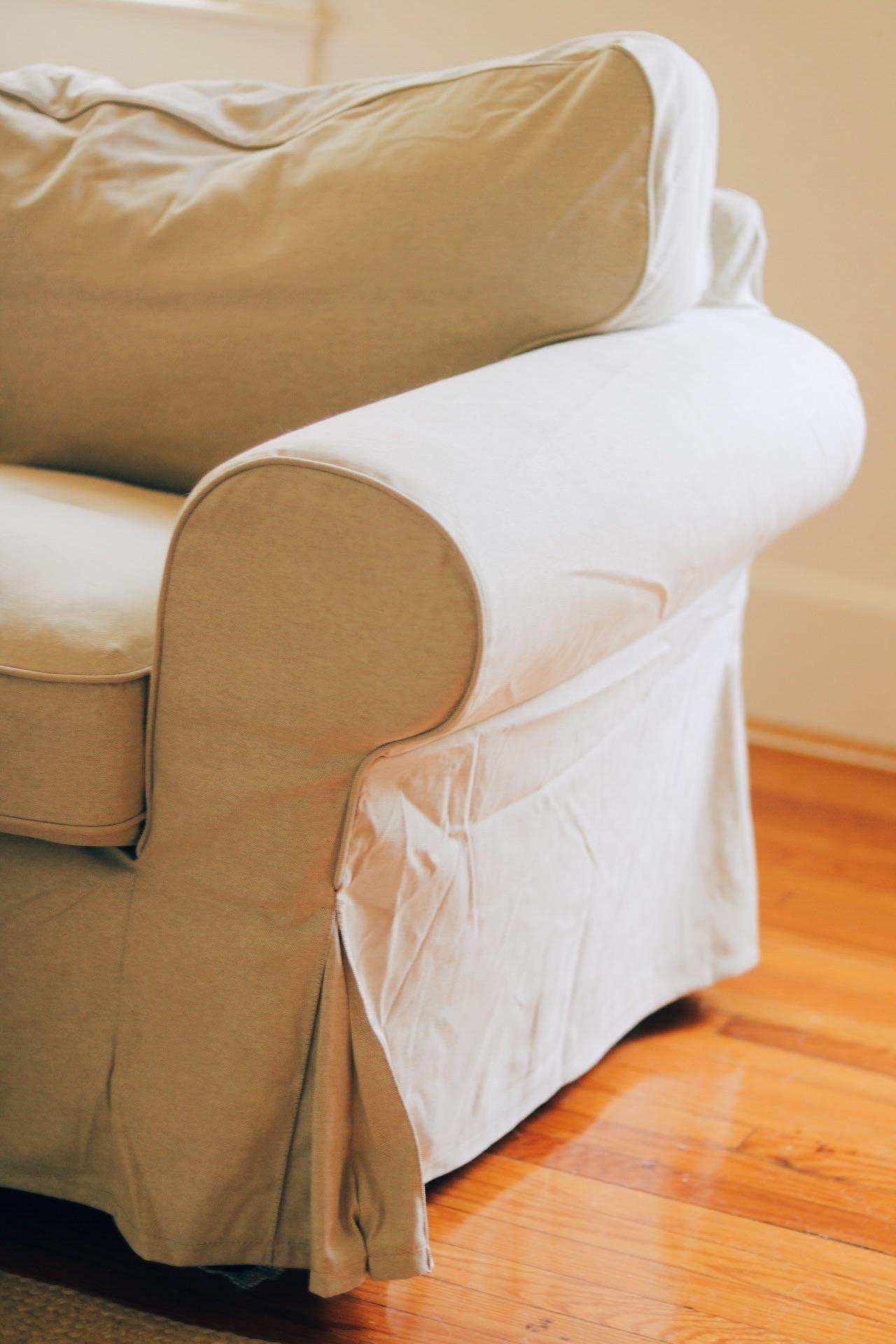 IKEA Ektorp sofa beige