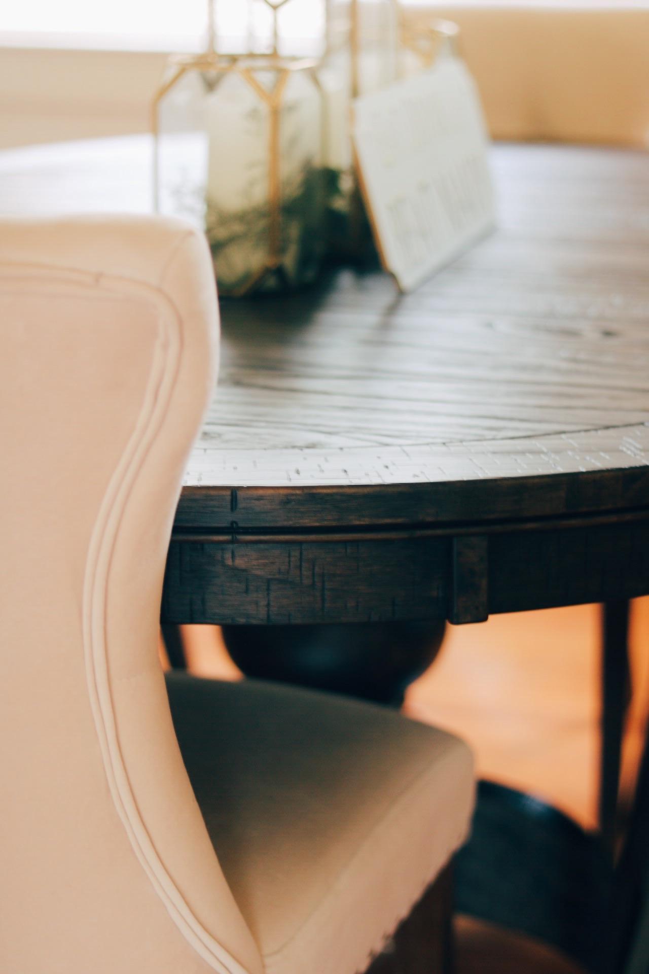 Ashley Furniture Farmhouse Dining Room Table Oval