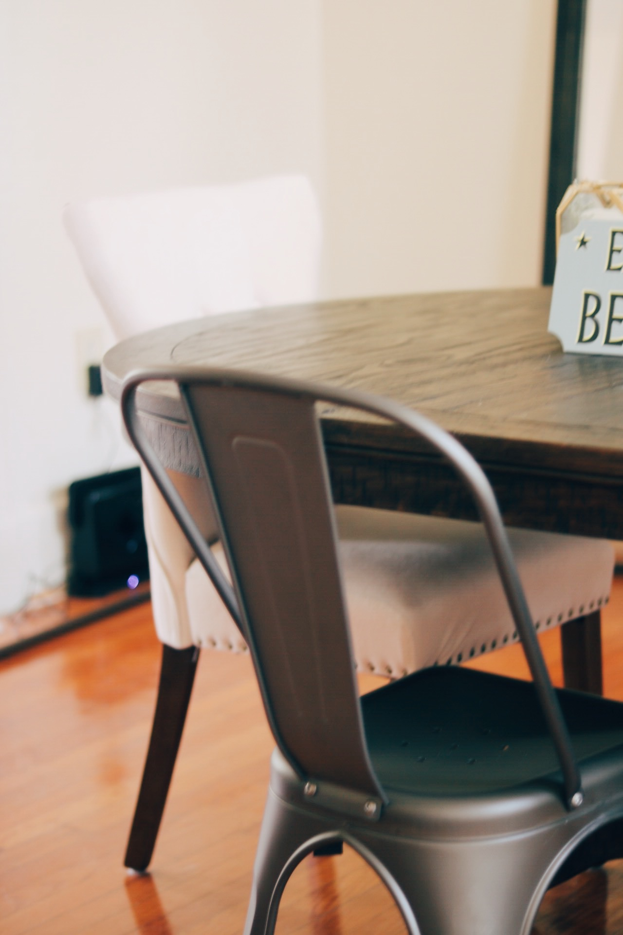 Mismatched Farmhouse Dining Room Chairs from Amazon
