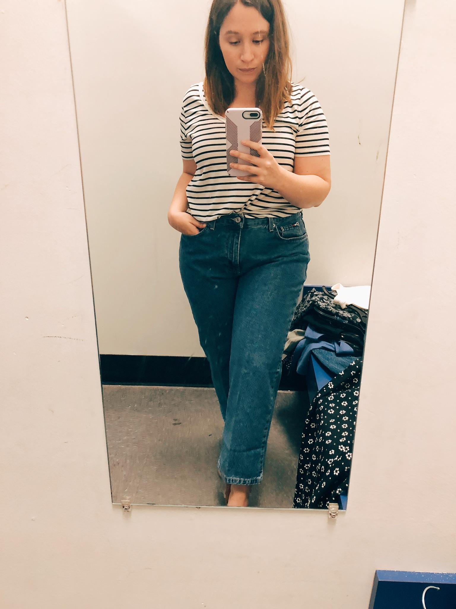 Vintage Tommy Hilfiger Jeans, Thrift Shopping Tips