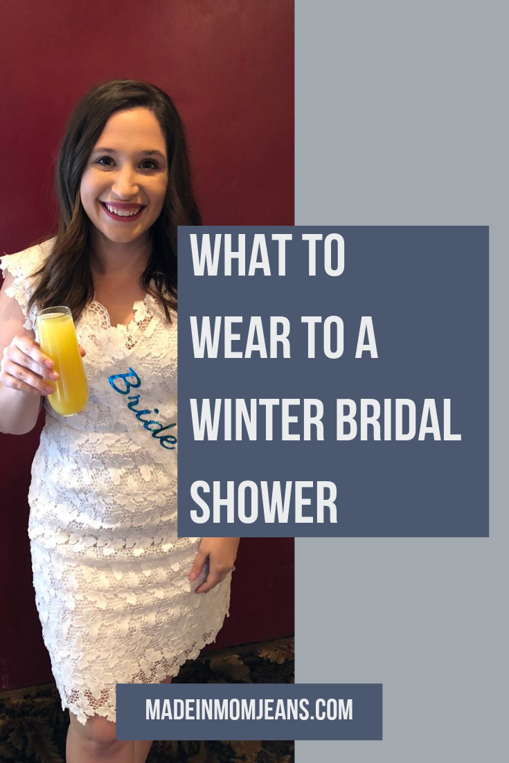 What to Wear to a Winter Bridal Shower as a Bride or as a Guest