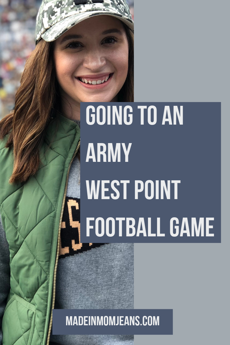 Everything You Need to Know about Attending an Army West Point Football Game | Made in Mom Jeans