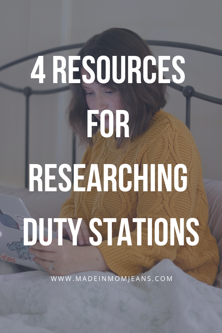 4 Resources for Researching Duty Stations without Spouse Groups