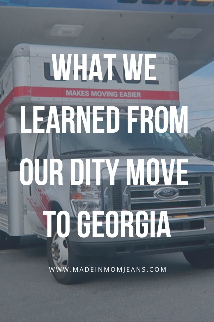 What We Learned From our DITY Move to Georgia