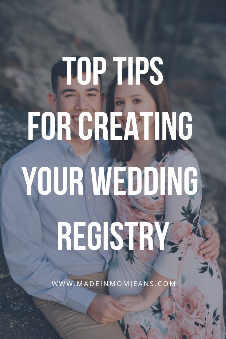 Top Tips for Creating Your Wedding Registry