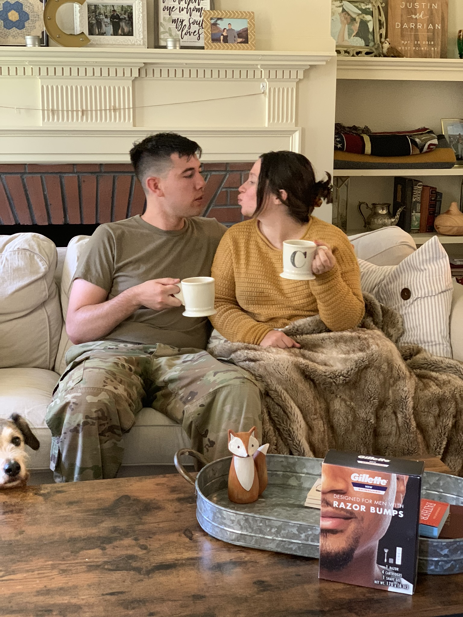 Our Military Family Morning Routine