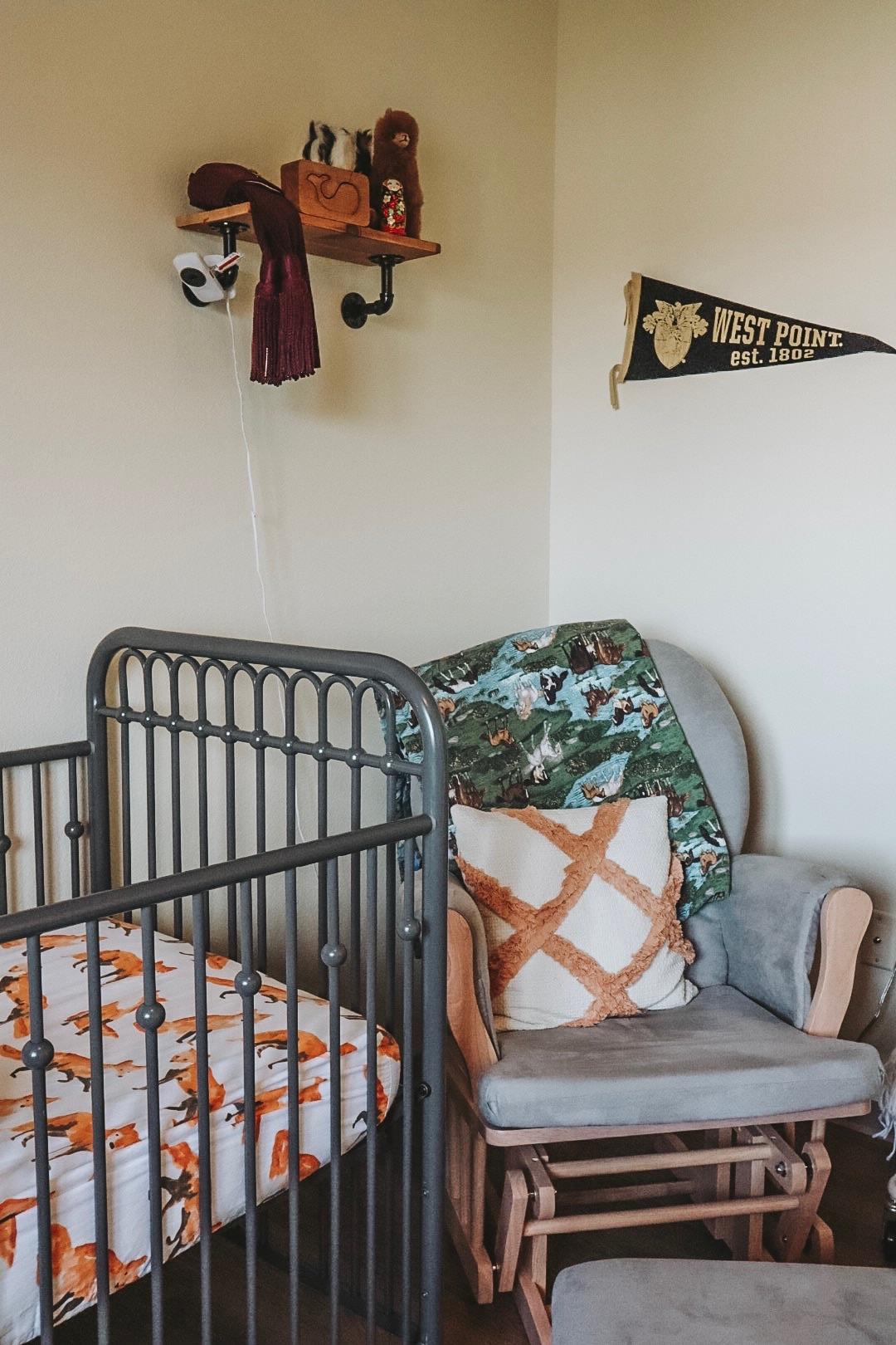 Jasper's Nursery: Eclectic Boho Baby Boy Nursery